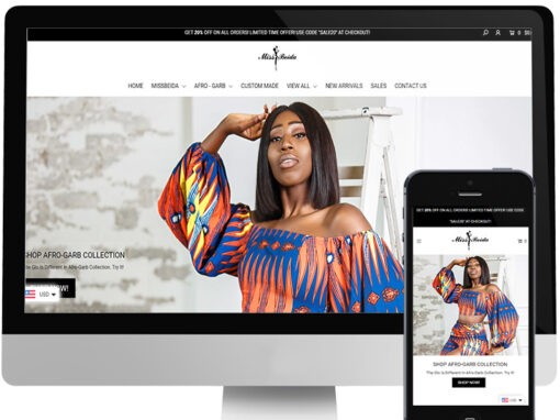 MISS BEIDA WEBSITE DESIGN