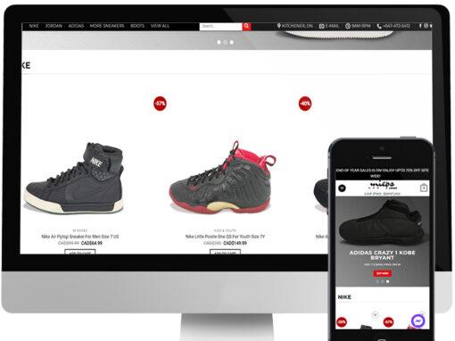MIEPS CLOSET WEBSITE DESIGN & BRANDING