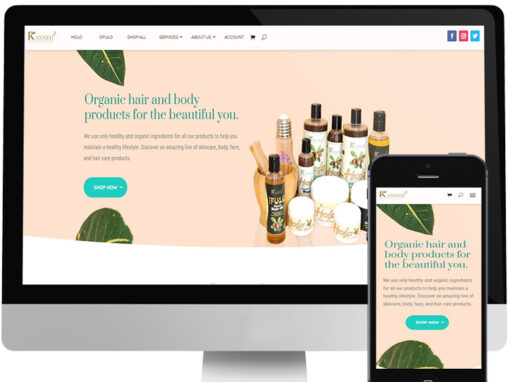 KANNEH NATURALS WEBSITE DESIGN