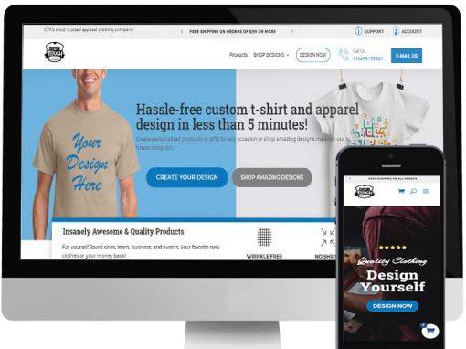 CUSTOM TOUCH DESIGNS WEBSITE DESIGN